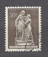 Czechoslovakia  Tschechoslowakei  1953 Gest. Mi 829 Sc 620  Czechoslovakia´s Friendship Korea, Solidarität Mit Korea. - Czechoslovakia