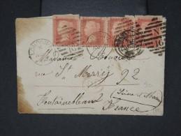 GRANDE BRETAGNE-Enveloppe De Londres Pour Fontainebleau En 1864   à Voir   P6208 - 1840-1901 (Regina Victoria)