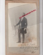 33 - BORDEAUX - RARE PHOTO ORIGINALE PANAJOU -TOURNEE DE L' AIGLON SARAH BERNAHARDT ET OULMANN- BERTAUD LE DOCTEUR - Photos