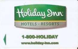 TARJETA DE HOTEL HOLIDAY INN RESORTS  (KEY CARD-LLAVE) - Cartas De Hotels