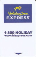 TARJETA DE HOTEL HOLIDAY INN EXPRESS  (KEY CARD-LLAVE) - Cartas De Hotels