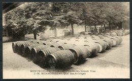France Montrichard Tourainet Grand Vins Monmousseau Wine Postcard - France