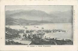 - Corse Du Sud  - Ref A 158 - La Rade D Ajaccio - Au Verso -publicite Maison Fourchereaux - La Roche Sur Yon - - Ajaccio