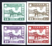 Cina-F-166 - Pinzellacchere Della Cina Del Sud - Privi Di Difetti Occulti. - Southern-China 1949-50