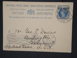 GRANDE BRETAGNE-INDES-Lot De 3 Entiers Voyagés  Période 1890/1905   à Voir  P6212 - 1882-1901 Empire