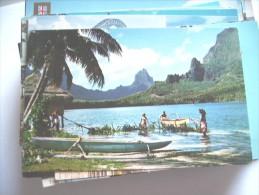 Moorea The Bay Of Paopao - Polynésie Française