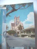 Bermuda Cathedral And Old Car - Bermuda