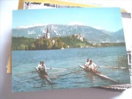 Slovenië Slovenia Bled  Boats - Slovenië