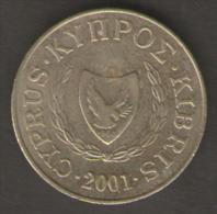 CIPRO 5 CENTS 2001 - Cipro