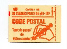 !!! 0,80C MARIANNE DE BEQUET SANS PHOSPHORE CARNET 1816 - C5 NEUF ** - Carnets