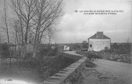 """¤¤  -     20   -  LA CHAPELLE-sur-ERDRE    -   La Levée   -  Café , Buvette """" La Boire D'Anjou """"  -  ¤¤ - La Chapelle Basse-Mer"""