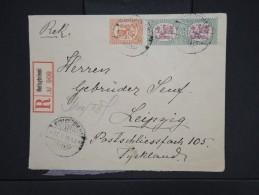 FINLANDE-Enveloppe En Recommandée De Neitsytniemi Pour Leipzig En 1926   à Voir  P6235