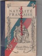LA NATALITE FRANCAISE - BEBE MAMAN- MATERNITE- VOITURES ENFANT FERNAND GRATIEUX-PARIS LYON STRASBOURG-1927 - Health