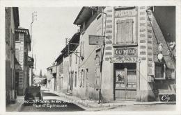 St-Sorlin En Valloire (Drôme) - Rue D'Epinouze - Edition A. Doyat - Carte Cig - Francia