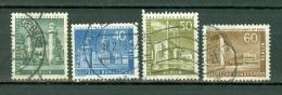 Berlin 1956/63,  Yv & T  132A, 132B, 133, 133A,  Mi 148, 149, 150, 151 Cat. Yv. € 15,00 - [5] Berlin