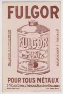 BUVARD FULGOR POUR TOUS MÉTAUX - Produits Ménagers