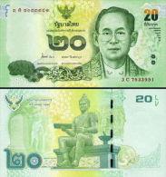 Thailand 20 Baht 2013 Pick NEW UNC - Tailandia
