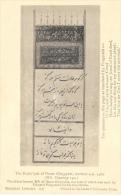The Rubaiyât Of Omar Khayyâm Written A.D. 1460 - Bodleias Library - Carte Non Circulée - Cartes Postales