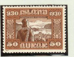 Island 1930 Mi# 135 ** Postfrisch - 1918-1944 Administration Autonome