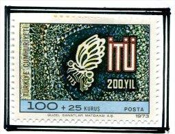CL 37   P16Turquie* N° 2049  -   Papillons  -   -Prix 1,00€ + Port - 1921-... Republic