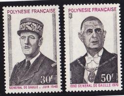 Polynésie N°89/90 - Neufs ** - Superbe - Polynésie Française