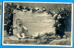 LIP398, Bébés, Fleur, Précurseur, M.A.D.P,   Circulée  1904 - Neonati