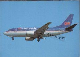 British BM Midland Boeing B 737-59D Aircraft Aviation B 737 Airplanes B.737 - 1946-....: Moderne