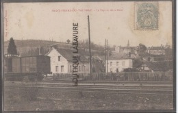 27 - SAINT PIERRE DU VAUVRAY--Le Pays Vu De La Gare--Wagon----R** - Francia