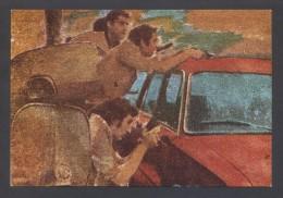 *Jordi Sarra - Atraco 1979* Barcelona. Firma Autografa. Circulada 1980. - Exposiciones