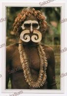 PAPUA NUOVA GUINEA - Guerriero Asmat - Costumi - Papua Nuova Guinea