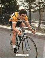 CYCLISME . BERNARD HINAULT . - Sportifs