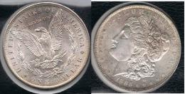EE.UU.  USA   DOLLAR 1885 O  MORGAN PLATA SILVER. - 1878-1921: Morgan