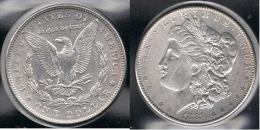 EE.UU.  USA   DOLLAR 1889  MORGAN PLATA SILVER. - 1878-1921: Morgan