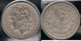 EE.UU.  USA   DOLLAR 1889  O MORGAN PLATA SILVER. - Émissions Fédérales