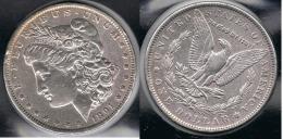 EE.UU.  USA   DOLLAR 1891  MORGAN PLATA SILVER. - 1878-1921: Morgan