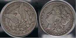 EE.UU.  USA   DOLLAR 1896 O  MORGAN PLATA SILVER. - 1878-1921: Morgan