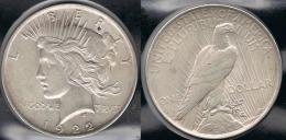 EE.UU.  USA   DOLLAR 1922  PEACE PLATA SILVER..B2 - 1921-1935: Peace
