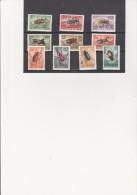 HONGRIE - POSTE AERIENNE N° 160 A 169 - NEUF X SEIE INSECTES  COTE : 18,50 €
