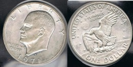 EE.UU.  USA   DOLLAR 1971 S  PLATA SILVER. - 1971-1978: Eisenhower
