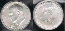 EE.UU.  USA   DOLLAR 1976 S  PLATA SILVER..pB6 - 1971-1978: Eisenhower