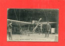 LE HAVRE AVIATION   1910  METIER MECANICIEN MISE AU POINT AVION HANRIOT   CIRC OUI EDIT - Other