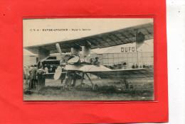 LE HAVRE AVIATION   1910  METIER MECANICIEN  BIPLAN L BREGUET AVION   CIRC OUI EDIT - Other