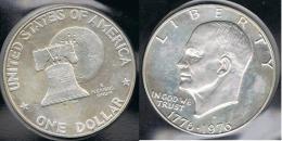 EE.UU.  USA   DOLLAR 1976 S  PLATA SILVER. - 1971-1978: Eisenhower