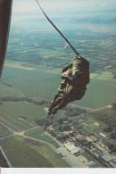 CPSM PARACHUTISME SORTIE AUTOMATIQUE - Paracadutismo