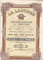 La Lainière - Verviers - Textile