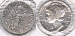 EE.UU.  USA  DIME DOLLAR 1942  PLATA SILVER. - EDICIONES FEDERALES