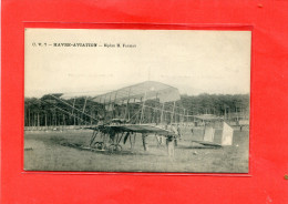 LE HAVRE AVIATION   1910  METIER MECANICIEN  BIPLAN  H FARMAN  AVION   CIRC OUI EDIT - Autres