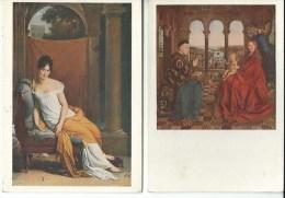 Musée Du Louvre 1m Recamier  2la Vierge Au Donnateur - Museum