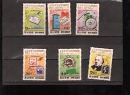 COREE DU  NORTE Nº 2071 AL 2076 - Correo Postal