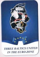 Congo-3-x-50-francs-Lithuania-Latvia-Estonia-2015-RARE - Only 500pcs! - Congo (République Démocratique 1998)
